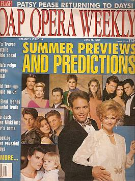 Soap Opera Weekly June 16, 1992