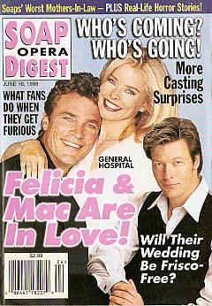 Soap Opera Digest - June 16, 1998