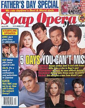 Soap Opera Magazine June 16, 1998