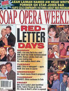 Soap Opera Weekly June 16, 1998