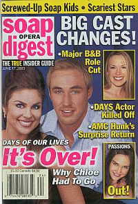 Soap Opera Digest June 17, 2003