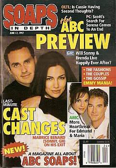 June 1997 issue of ABC Soaps In Depth magazine