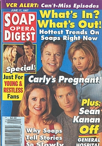 Soap Opera Digest - June 17, 1997
