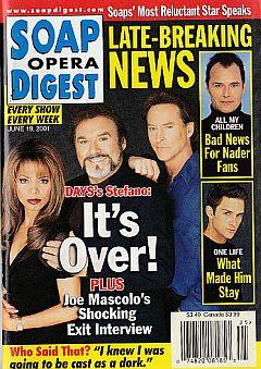 June 19, 2001 Soap Opera Digest