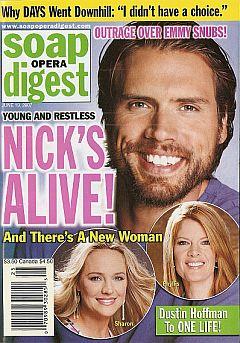 Soap Opera Digest June 19, 2007