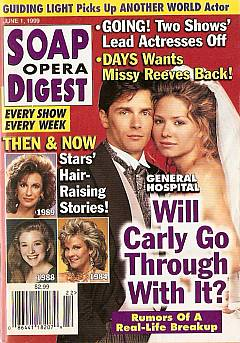 Soap Opera Digest - June 1, 1999