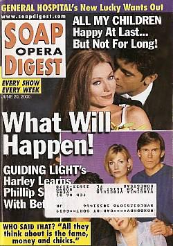 June 20, 2000 - Soap Opera Digest