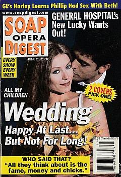 Soap Opera Digest June 20, 2000