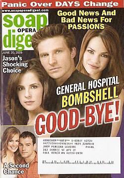 Soap Opera Digest June 20, 2006
