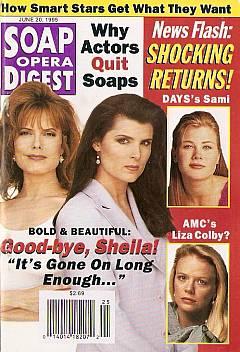 Soap Opera Digest - June 20, 1995
