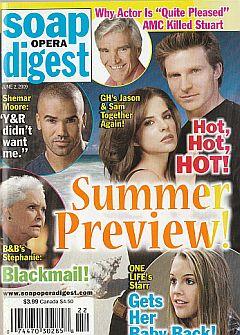 Soap Opera Digest June 2, 2009