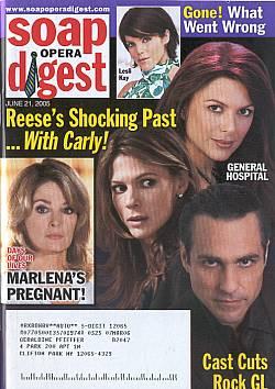 Soap Opera Digest June 21, 2005