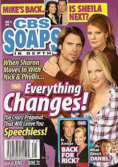 CBS Soaps In Depth June 21, 2010
