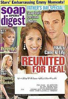 June 21, 2011 issue of Soap Opera Digest magazine