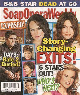 Soap Opera Weekly - June 21, 2011
