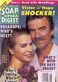 Soap Opera Digest - June 21, 1994