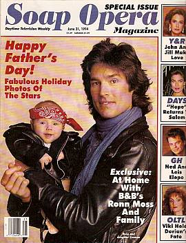 Soap Opera Magazine June 21, 1994