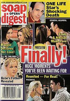 Soap Opera Digest June 22, 2004