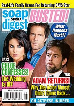 Soap Opera Digest June 22, 2010