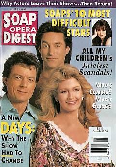 June 22, 1993 Soap Opera Digest