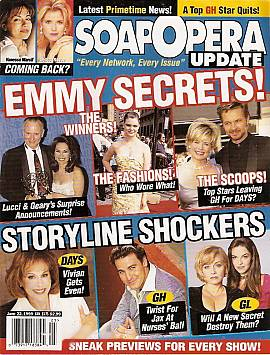 Soap Opera Update June 22, 1999