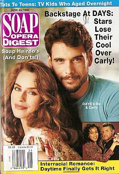 Soap Opera Digest June 23, 1992