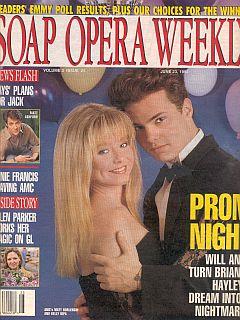 Soap Opera Weekly June 23, 1992