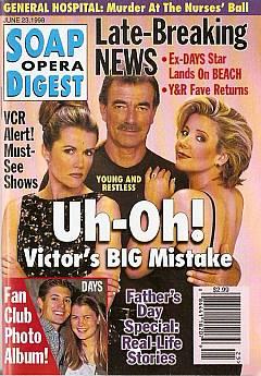 Soap Opera Digest - June 23, 1998