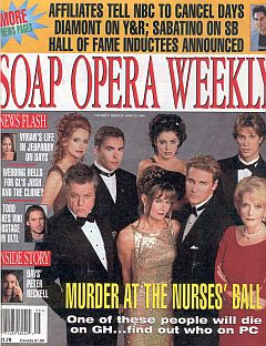 Soap Opera Weekly June 23, 1998