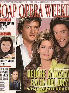 Soap Opera Weekly June 25, 1991