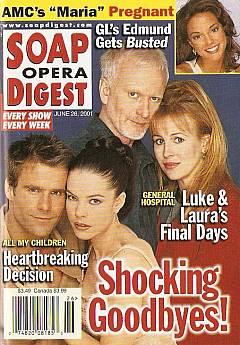 Soap Opera Digest June 26, 2001