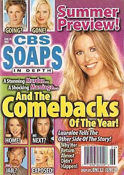 CBS Soaps In Depth June 26, 2007