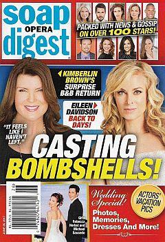Soap Opera Digest June 26, 2017