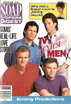 Soap Opera Digest June 26, 1990