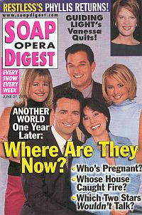 Soap Opera Digest - June 27, 2000