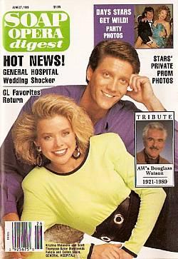 Soap Opera Digest June 27, 1989