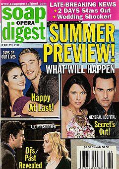Soap Opera Digest June 28, 2005