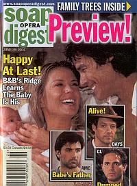 Soap Opera Digest June 29, 2004