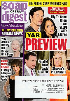 June 29, 2015 issue of Soap Opera Digest magazine