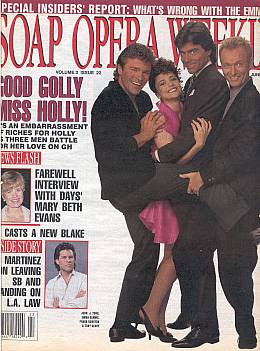 Soap Opera Weekly June 2, 1992