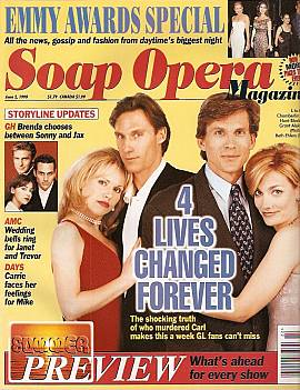 Soap Opera Magazine June 2, 1998