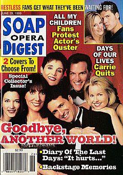 Soap Opera Digest - June 29, 1999
