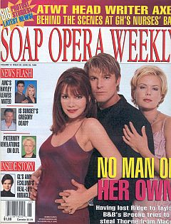 Soap Opera Weekly June 29, 1999