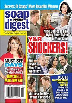 Soap Opera Digest June 30, 2014