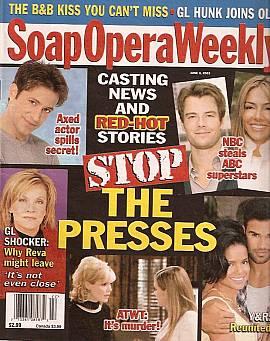 Soap Opera Weekly June 3, 2003