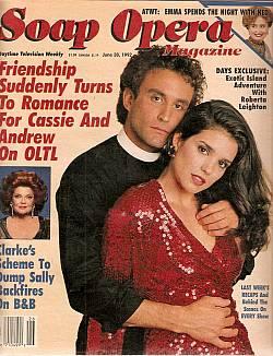 Soap Opera Magazine June 30, 1992