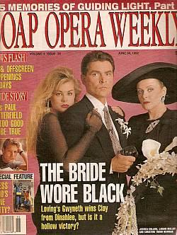 Soap Opera Weekly June 30, 1992