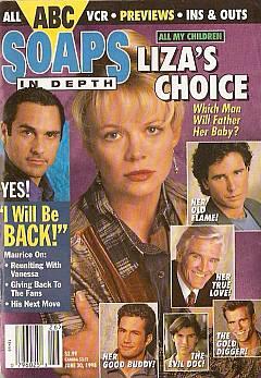 June 30, 1998 issue of ABC Soaps In Depth magazine