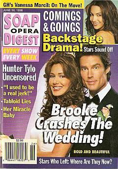 Soap Opera Digest - June 30, 1998