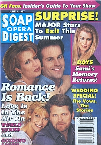 Soap Opera Digest - June 3, 1997